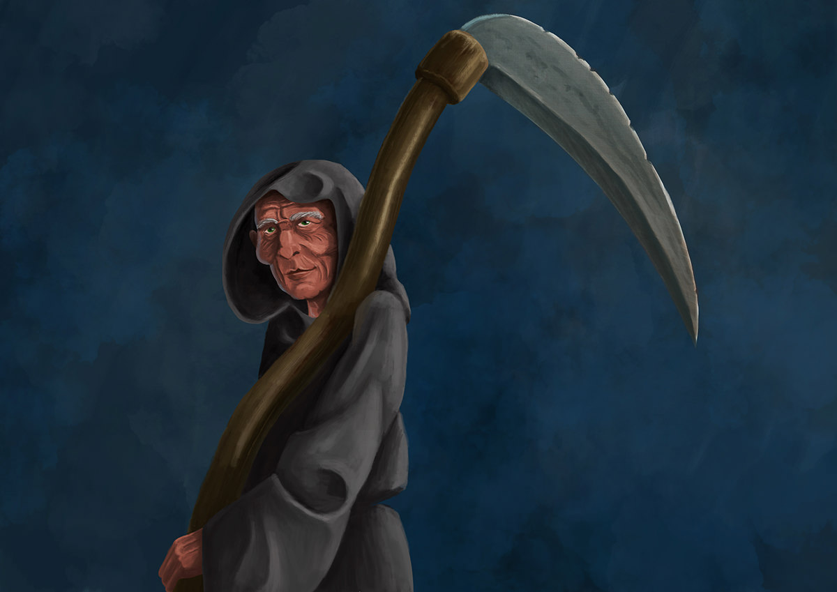 The Grim Reaper, aka Death