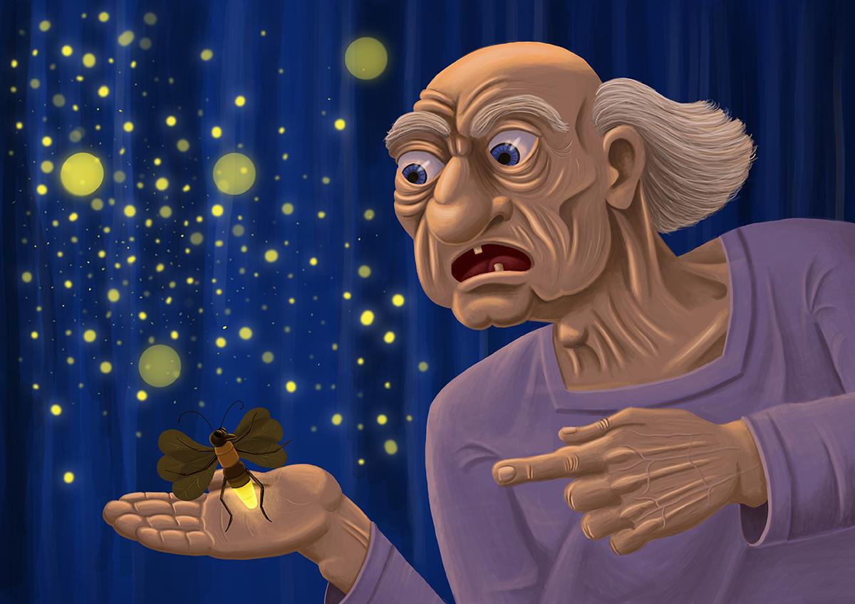 Firefly - illustration by Mihai, The Illustration Guy